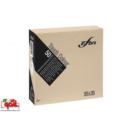 Tovaglioli InFiore 33x33 (50pz) (Beige)