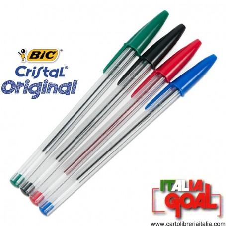 Penne Bic Cristal Singole (Vari Colori)