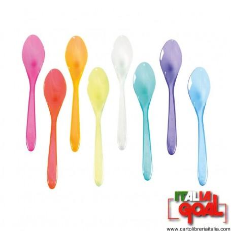 Cucchiaini Granita Colorati 13cm 1Kg