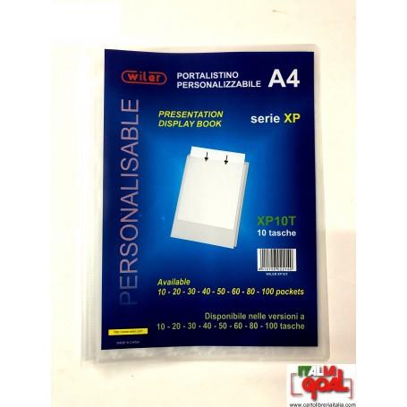 Portalistino Personalizzabile A4 (10 Tasche)